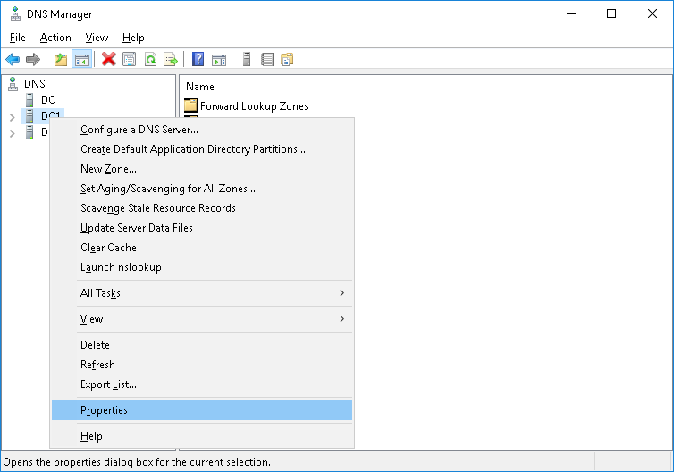 Configuring your Server to use N4L's DNS Servers